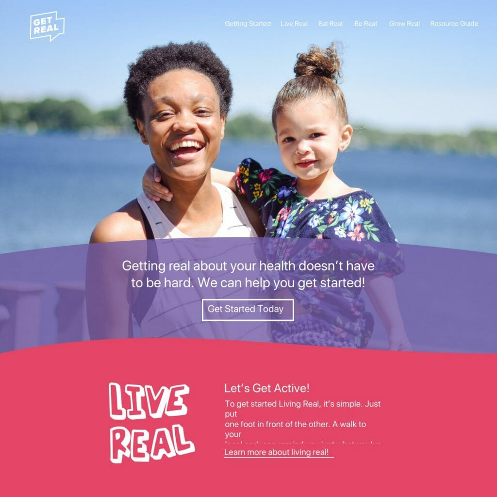 Get Real - Home Page